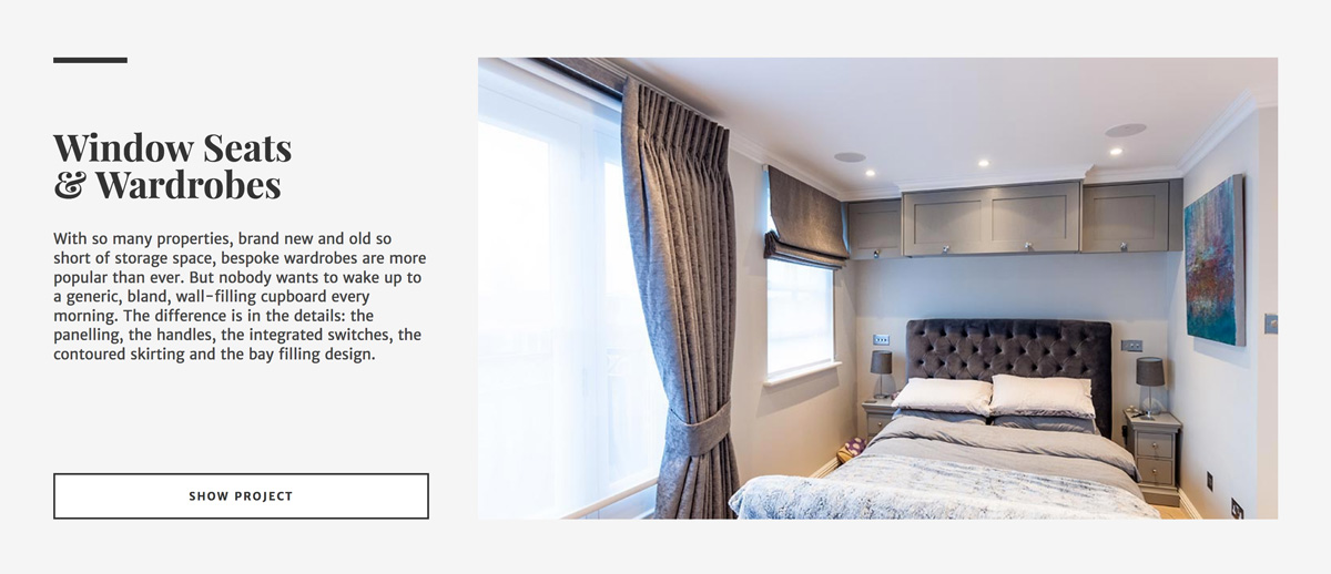 LDN Furniture Website Screenshot