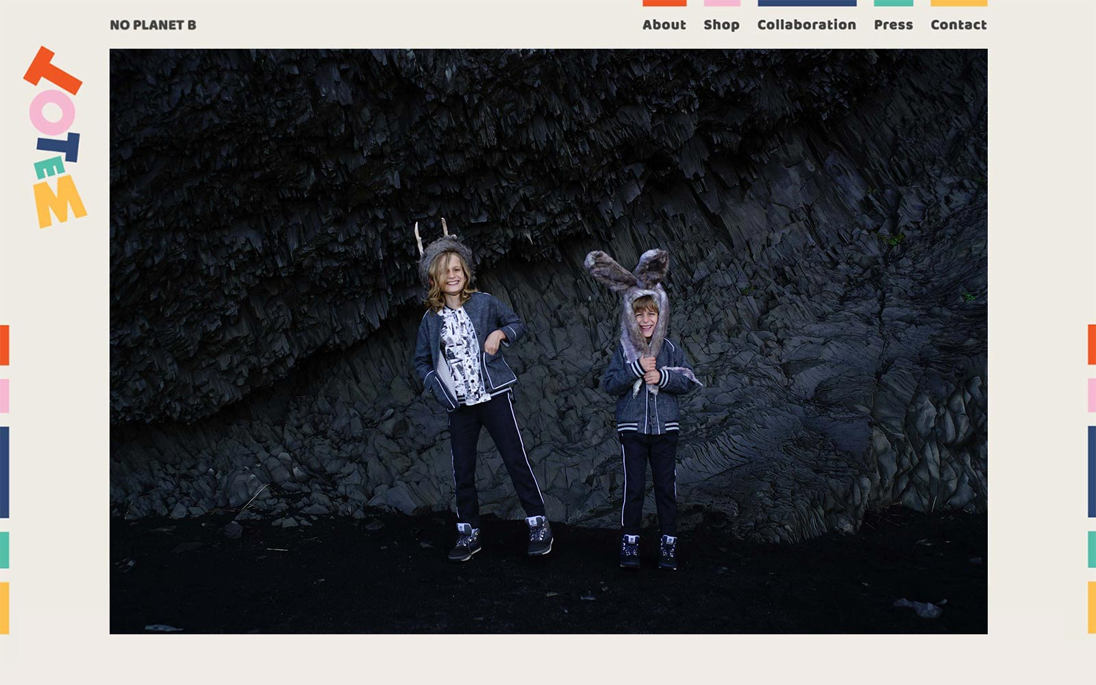 Totem Kids website screenshot